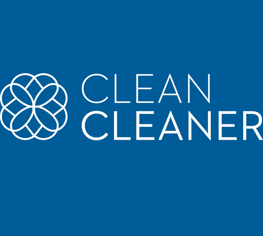 Clean Cleaner home video panel logo